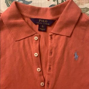 Ralph Lauren Tops - Dusty Pink polo racer back tee